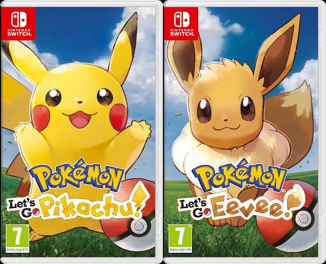 Pokémon – Let's Go Pikachu/Eevee Review
