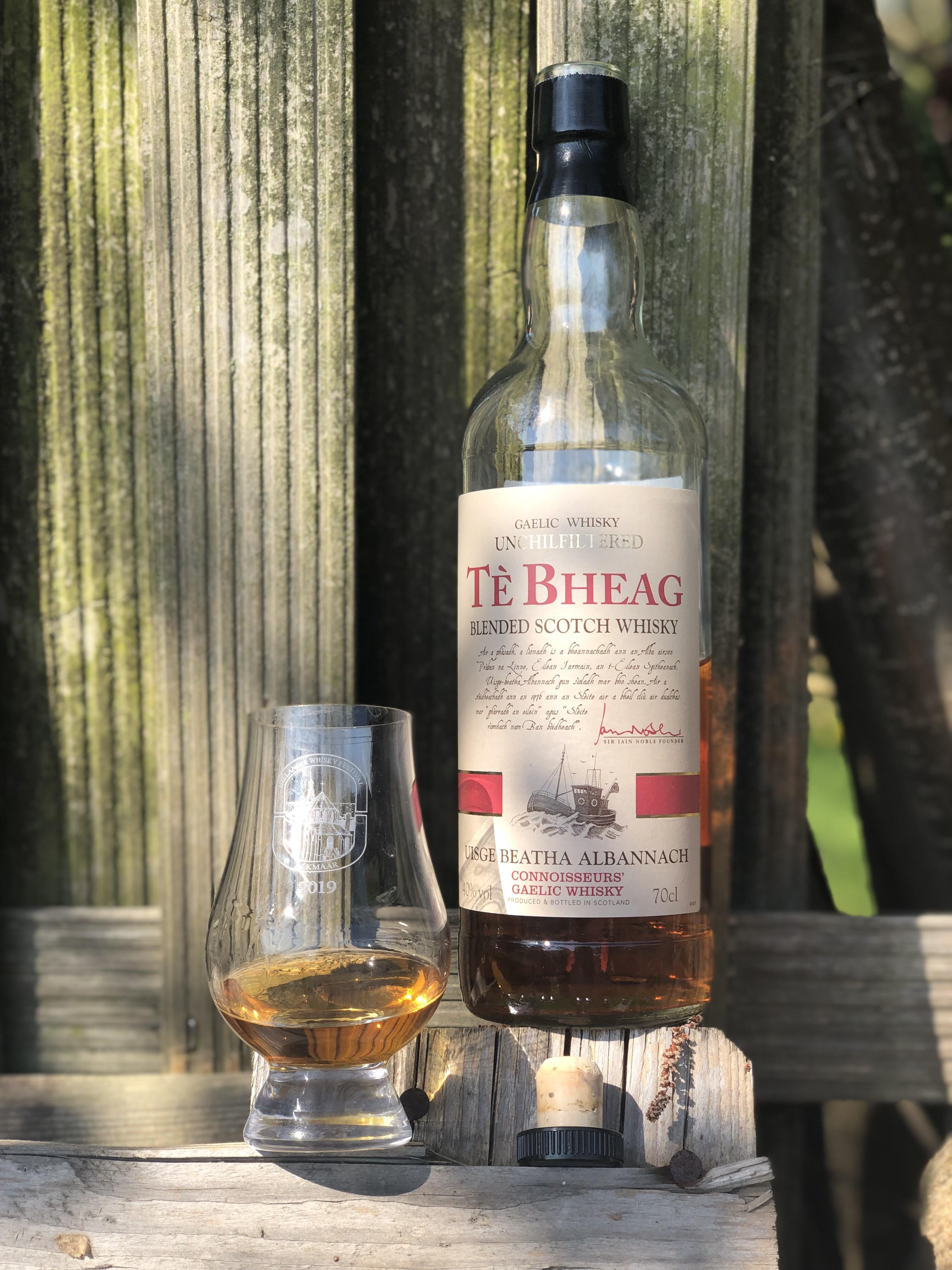 Hoe lekker is de Tè Bheag blended scotch whisky eigenlijk?