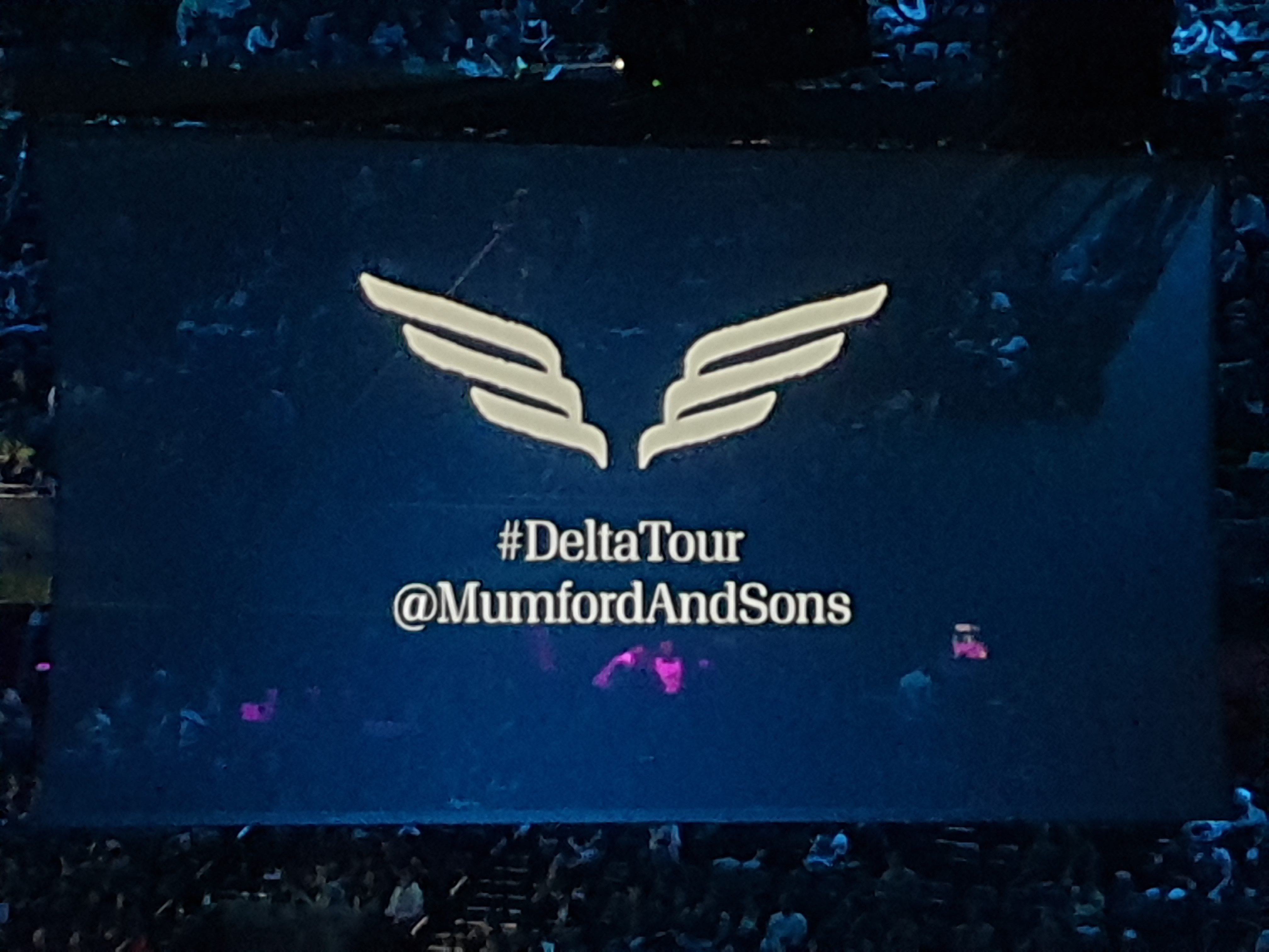 Mumford and Sons Delta Tour – Live @ Ziggo Dome