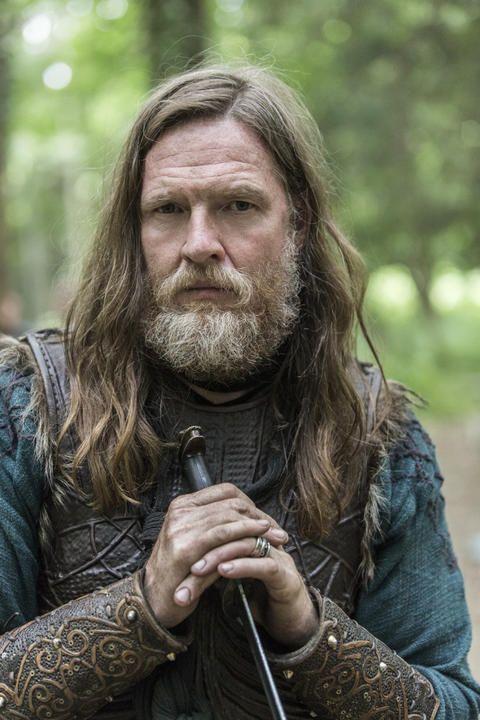 Koning Horik op fsom uit vikings