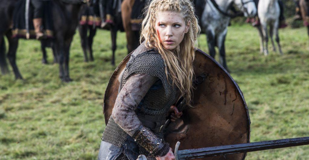 Queen lagertha in vikings op fsom