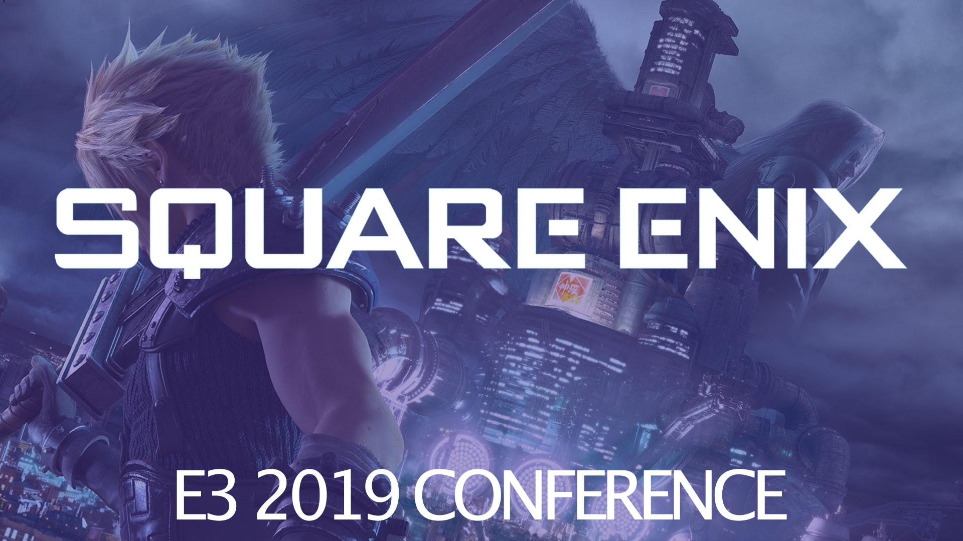 E3 2019 – Square Enix perconferentie