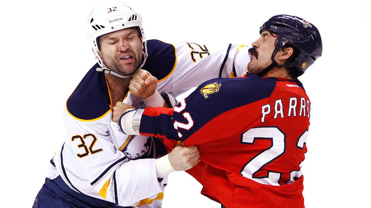 De NHL, snelle handen en weinig tanden