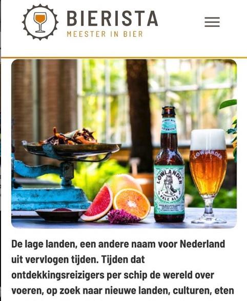 De Proefessor en zijn eerste speciaalbiertje op FSOM. FSOM.nl Ook is hij actief als redacteur bij Bierista!