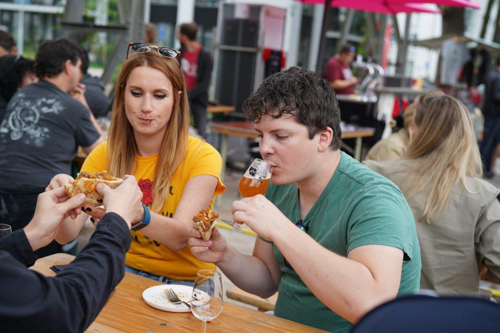 Hopwagon het craftbeer en foodpairing festival in Tilburg. FSOM TheDutchBeerDad