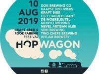 Hopwagon FSOM Craftbeer en Foodpairing festival in Tilburg