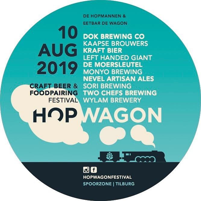 Hopwagon het Craftbeer en Foodpairing festival in Tilburg