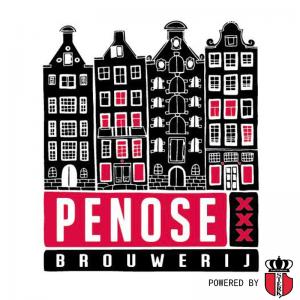 Penosebrouwerij logo op FSOM powered by sterk amsterdam