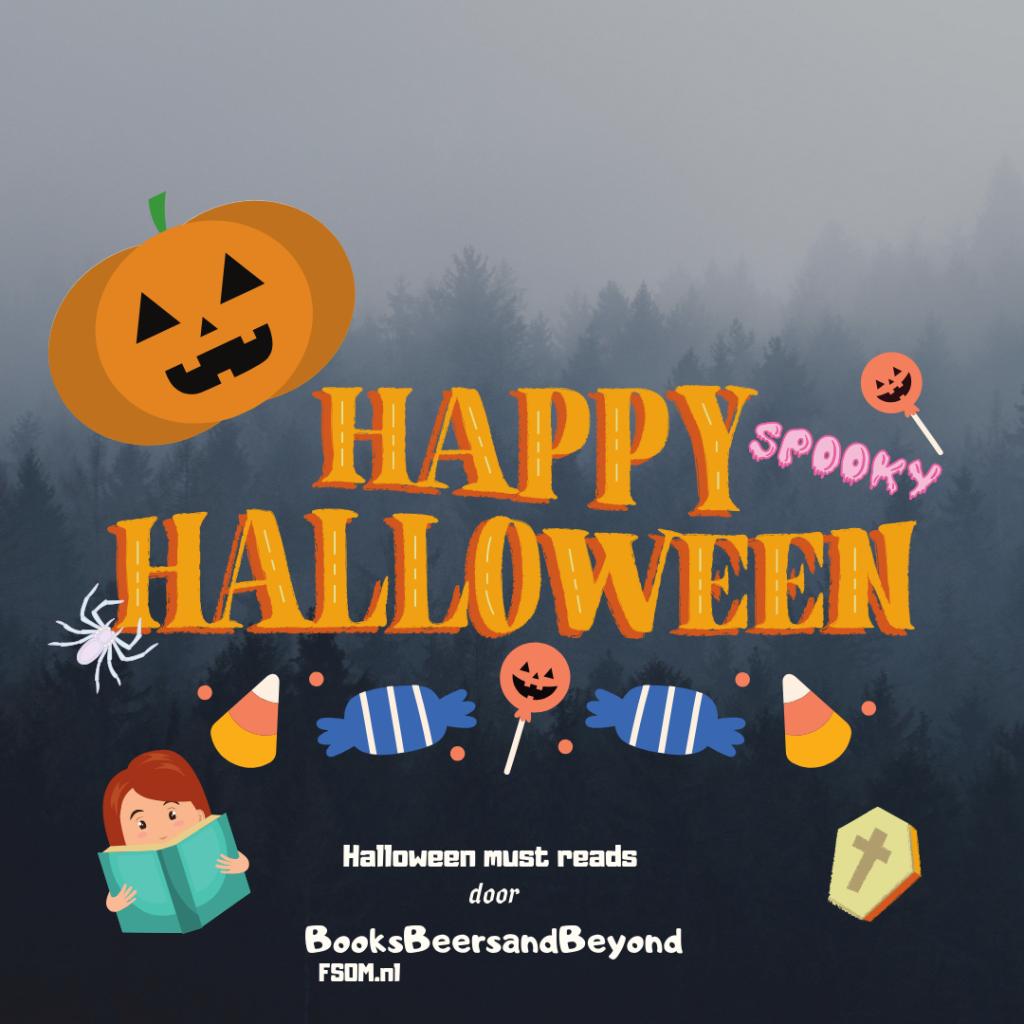 Oktober de maand van bockbier? Wat dacht je van Halloween! Daarom komt BooksBeersandBeyond met haar Halloween must reads!  Check ze snel op fsom.nl. HAPPY HALLOWEEN