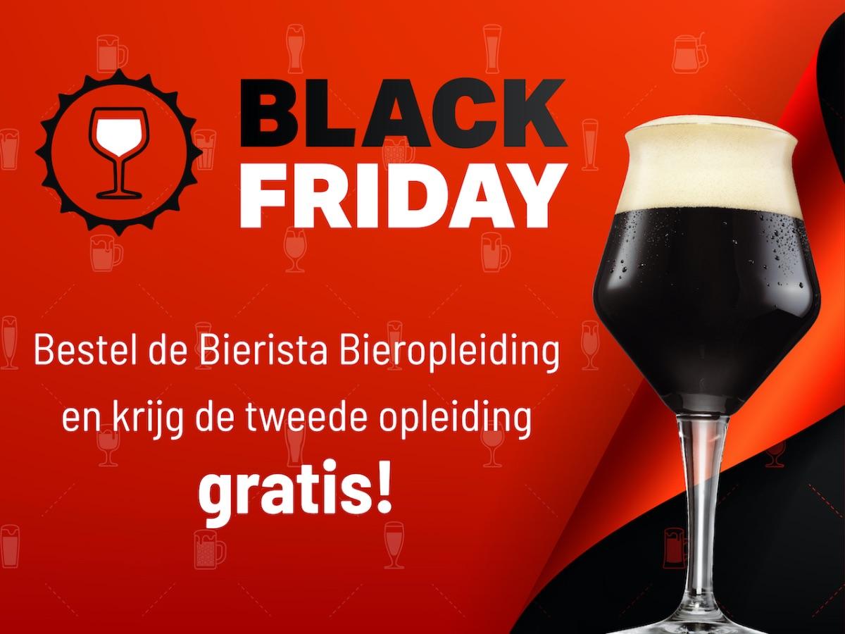 Black Friday Madness: Geef of Krijg de Bierista Bieropleiding Cadeau