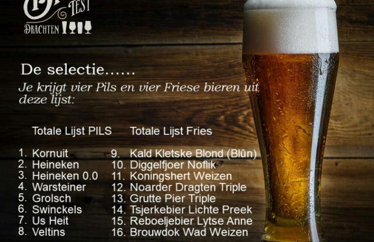 de bieren van de biertest zijn bekend!