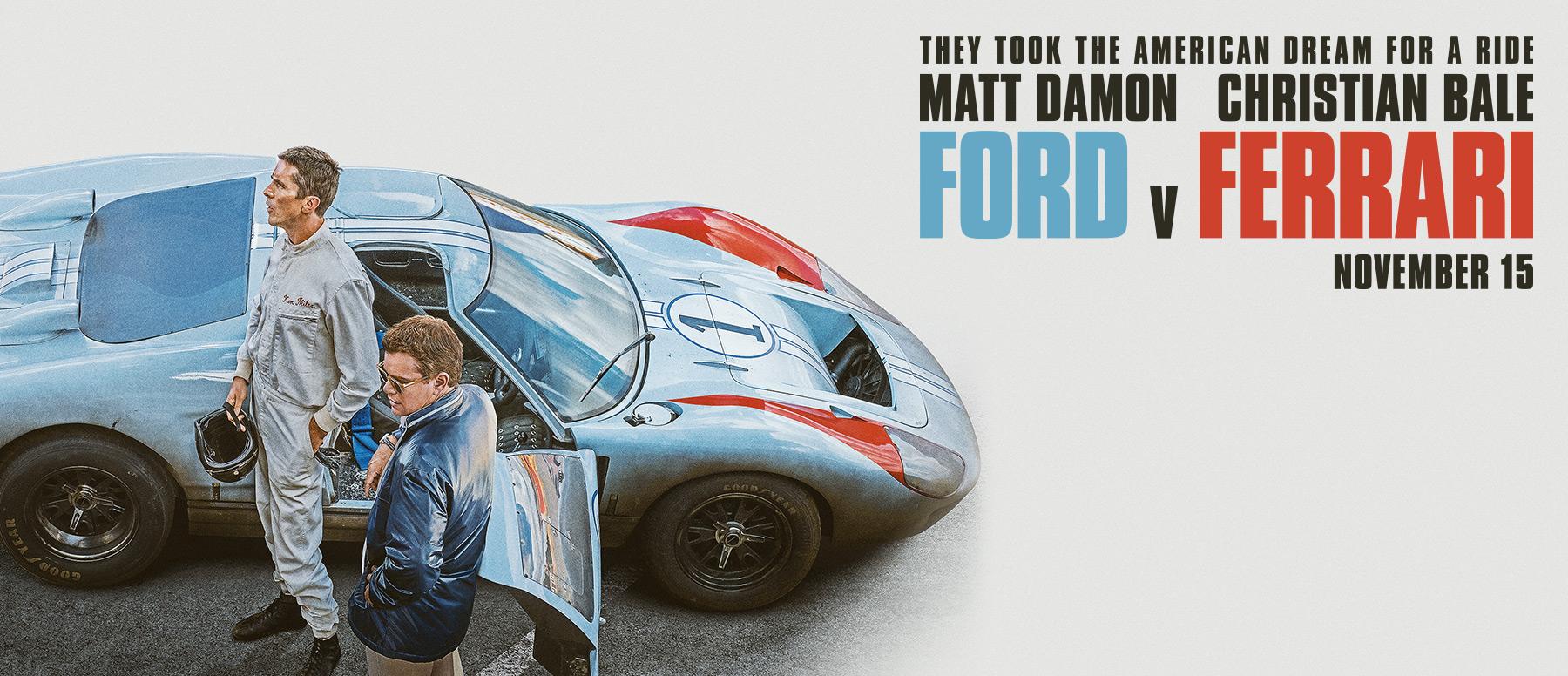 Het is bijna tijd voor Le Mans '66 FORD vs FERRARI