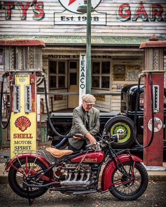 Old men with indian bike motorhandschoenen pinterest fsom thedutchbeerdad