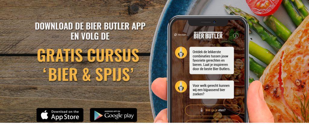 Download de Bier Butler app helemaal gratis. FSOM