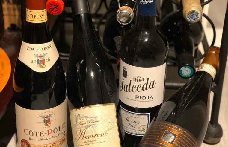 collectie wijnen op fsom the bright side of wine