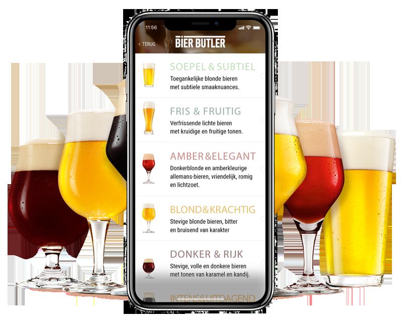 De Bier butler verteld je op fsom ook het een en ander over de verschillende bierstijlen. fsom.