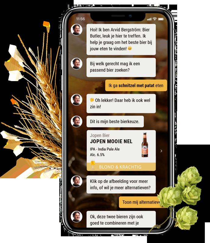 Volg de Bier en Spijs Cursus bij de Bier Butler App