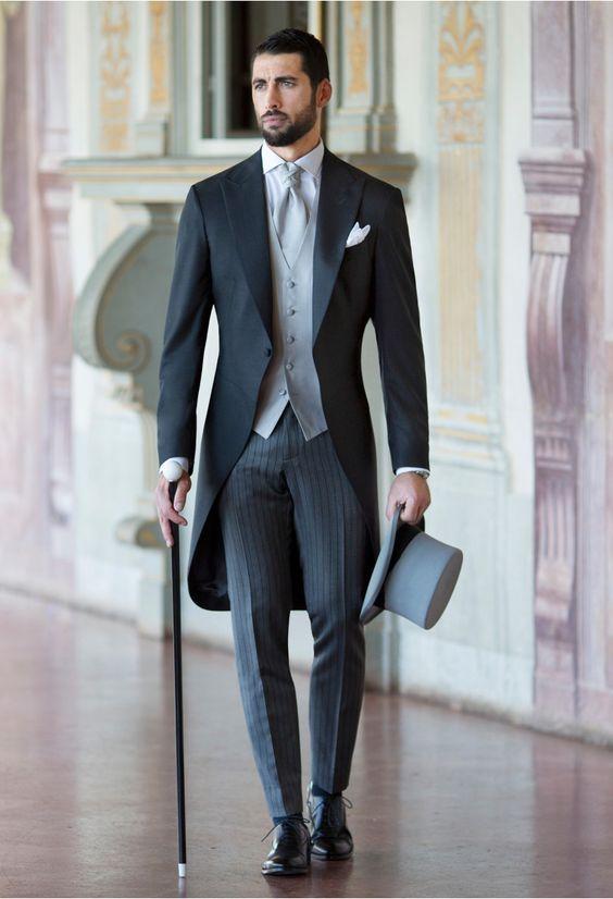 Schoolvoorbeeld rokkostuum in de dresscode voor mannen op fsom.