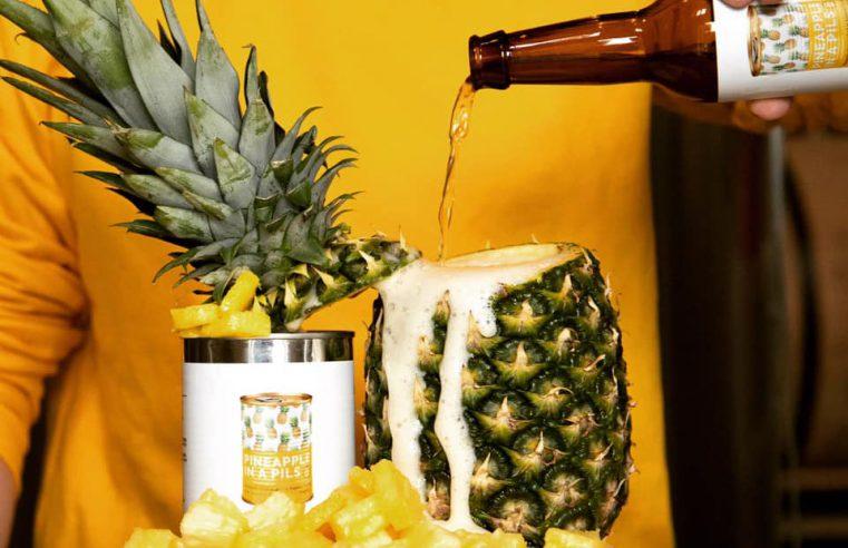 pineapple pilsner uit maastricht van brouwerij zuyd