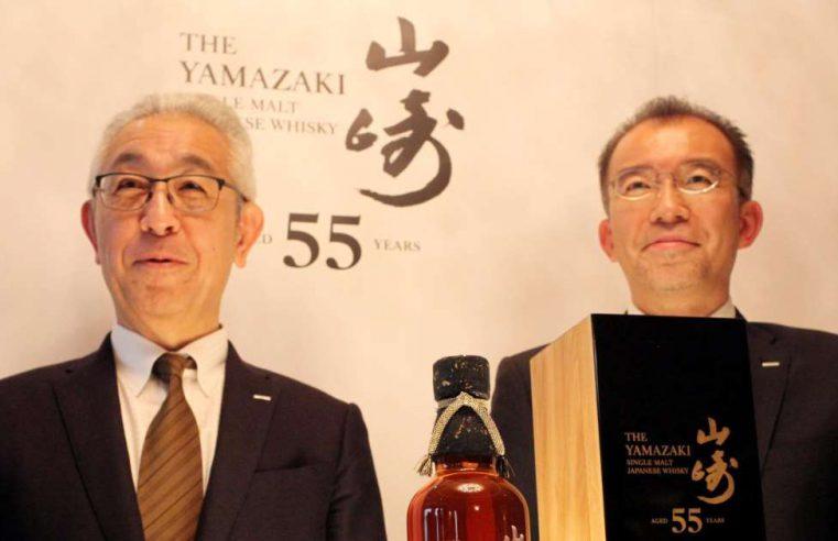 suntory komt met 55 jaar oude whisky van 25.000 euro per fles