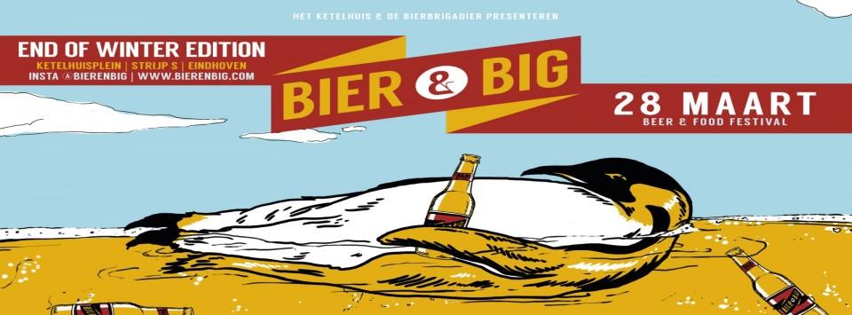 Bier en Big the End Of Winter Festival in Eindhoven!