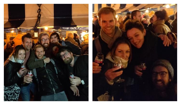 Gezellige foto's van de vorige editie van het Bier en Big festival in Eindhoven.