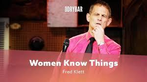 Mannen weten niet wat vrouwen allemaal weten