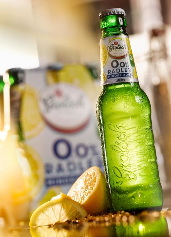 Grolsch radler 0,0 minder zoet alcoholvrij op fsom door thedutchbeerdad
