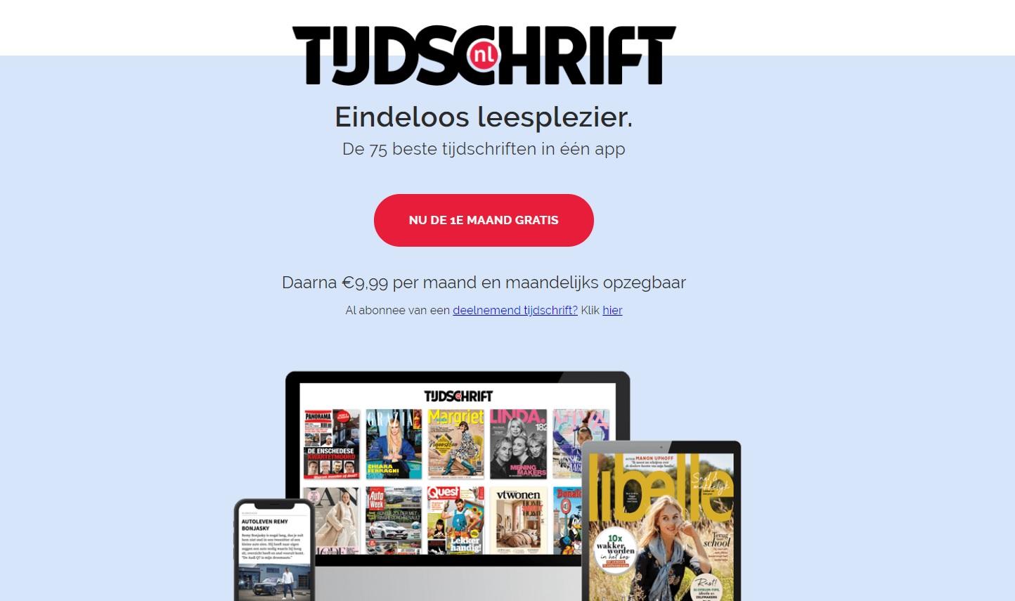 tijdschrift.nl aanbieding actie op fsom