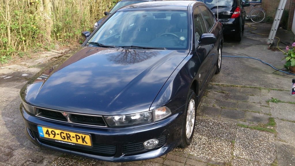 Mitsubiishi Galant 2.0 van TheDutchBeerdad in een Trip Down memory lane the rides op FSOM Magazine.