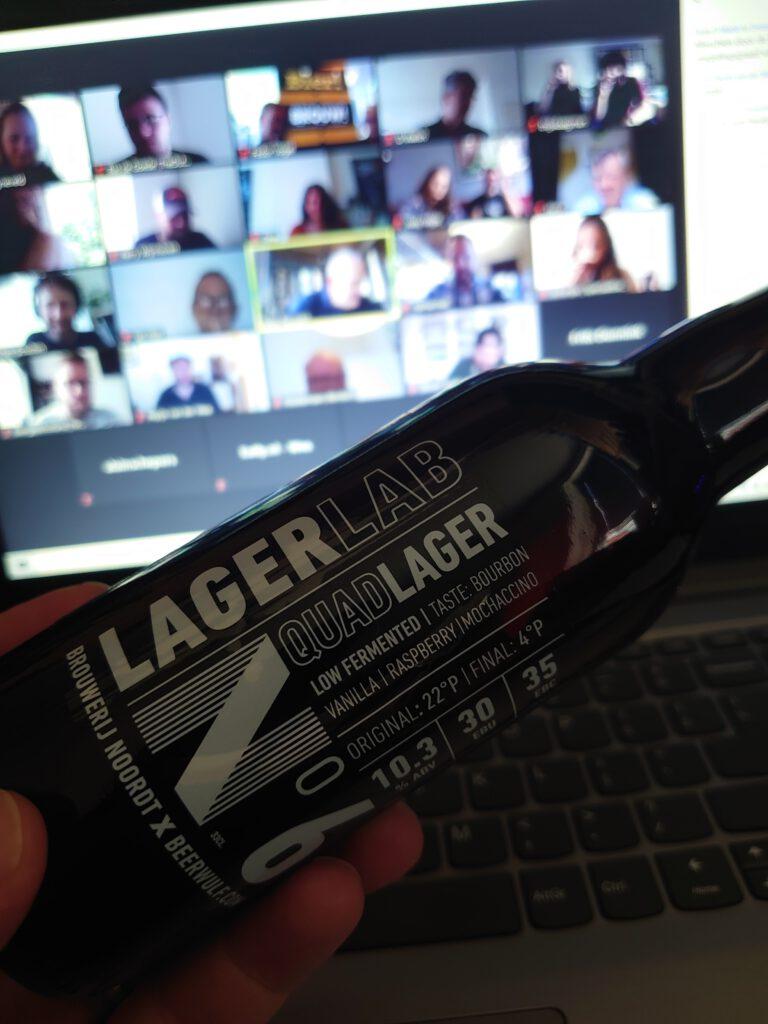 LagerLab bieren van Brouwerij Noordt door TheDutchBeerDad op FSOM Magazine. De zoom meeting voor de pers inclusief proeverij van deze bijzondere ondergistende bieren gebrouwen in Rotterdam.   Brouwerij Noordt brouwt in ongetemde wateren met LagerLab op https://fsom.nl