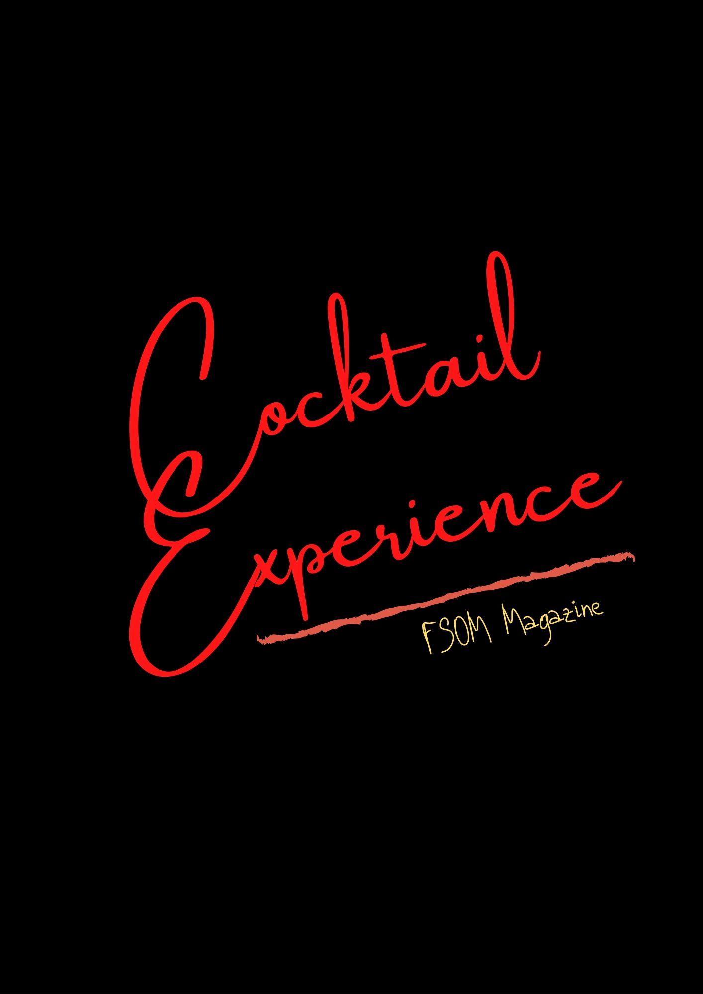 Let's shake things up! Cocktail Experience