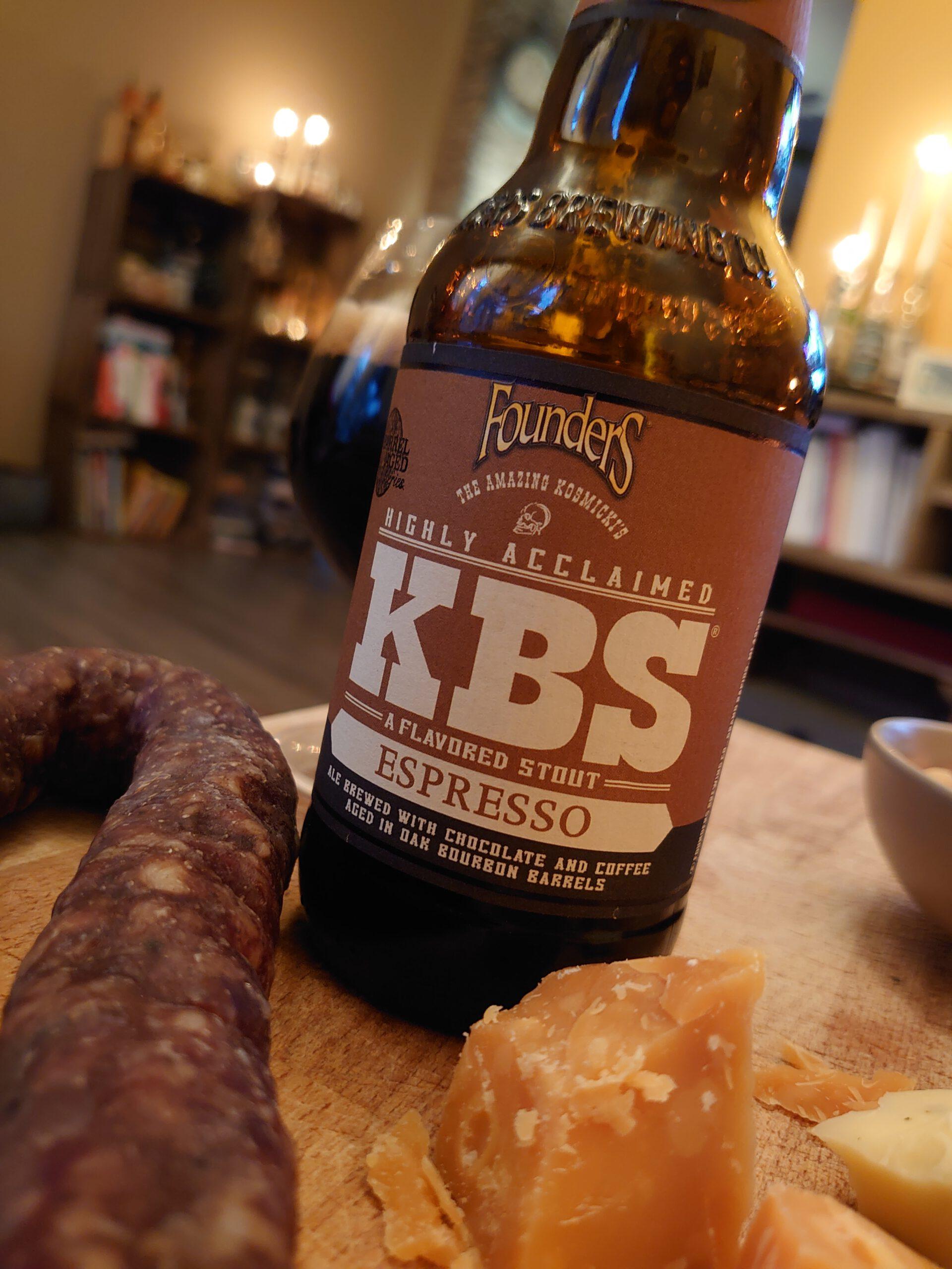 KBS Espresso Stout van Founders Brewing