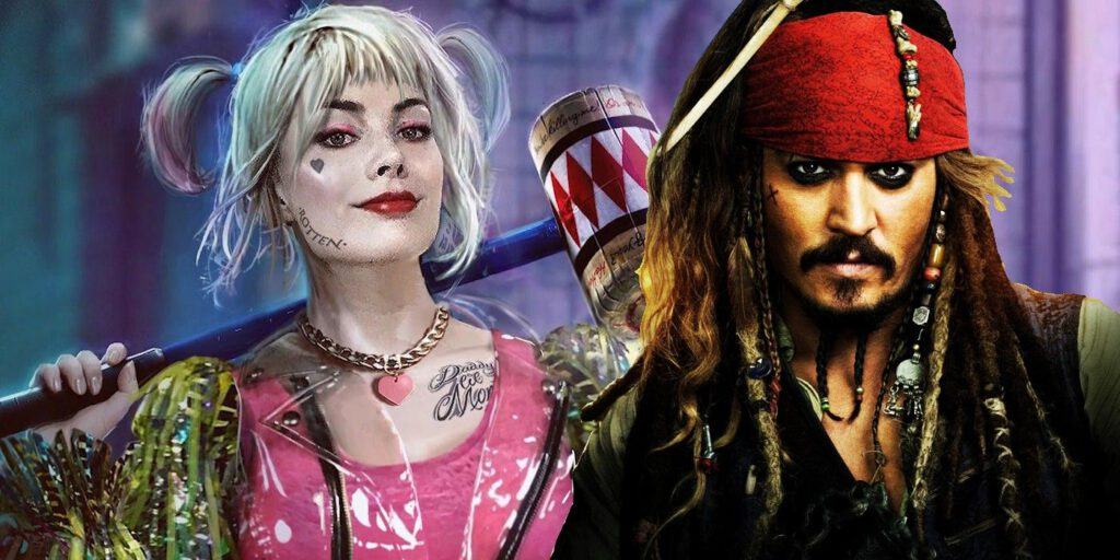 Harley QUinn X Johnny Depp in de zesde film van de Pirates of the Caribbean reeks?   FSOM Magazine