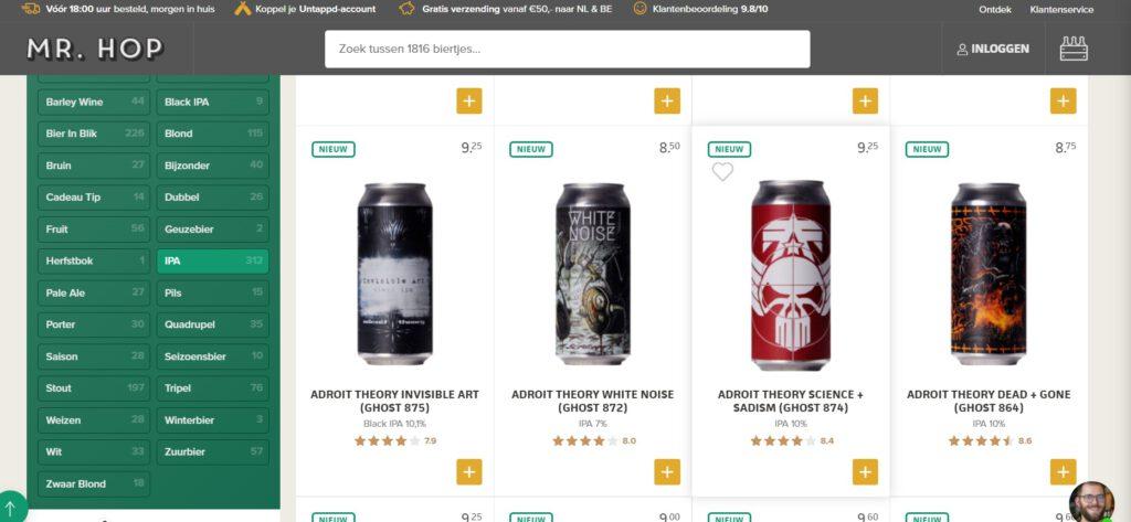 Er is voor iedereen een IPA! (India Pale Ale) Neem maar eens een kijkje op de website van Mr hop!   TheDutchBeerDad voor FSOM Magazine