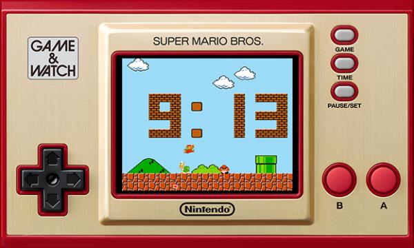 Speel Super Mario als ooit tevoren met Game & Watch.