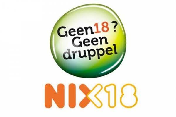 nix18 geen18geenalcohol genietmaardrinkmetmate.  FSOM Crew