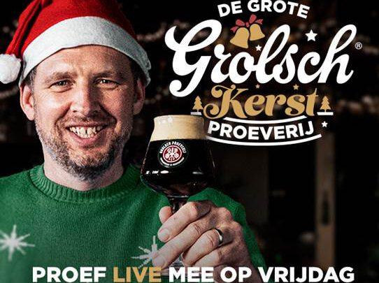De Grote Muzikale Grolsch Kerst Proeverij