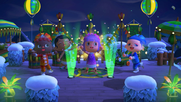 Vier Carnaval met Animal Crossings!