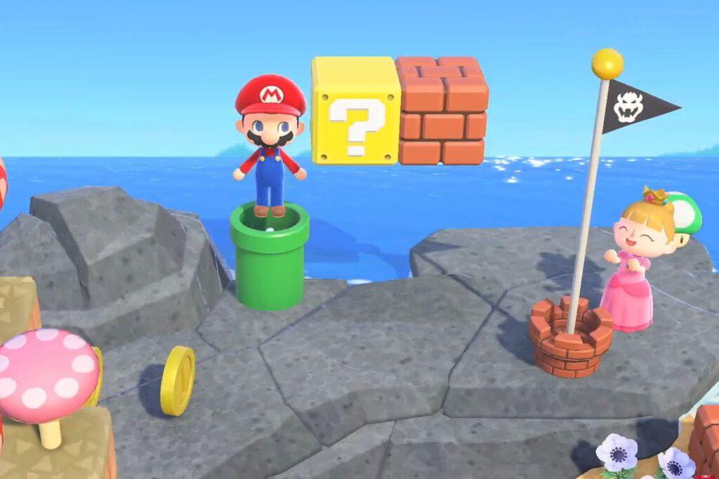 Yeeeehaaa! Het is bijna zover! De Mario Update voor Animal Crossing New Horizon is vanaf volgende week verkrijgbaar.   FSOM