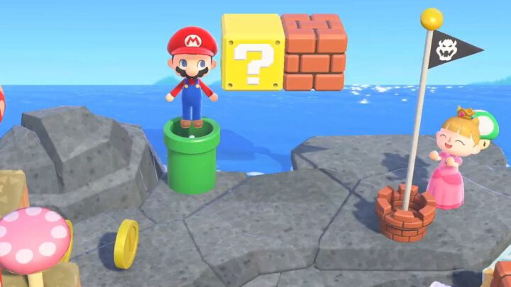 Animal Crossing: New Horizons Mario update vanaf volgende week beschikbaar