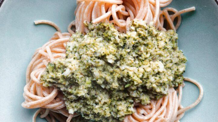 De Snelle Maaltijd Kokos Broccoli Spaghetti