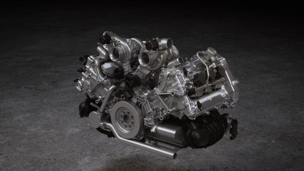 Binnen 8,3 seconden 200 km/h rijden kan in de allerzuinigste McLaren ooit! De Mclaren Artura is de Next Gen High Performance Supercar! - Engine bij FSOM
