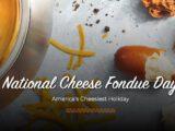 Nationale kaasfondue dag komt eraan!