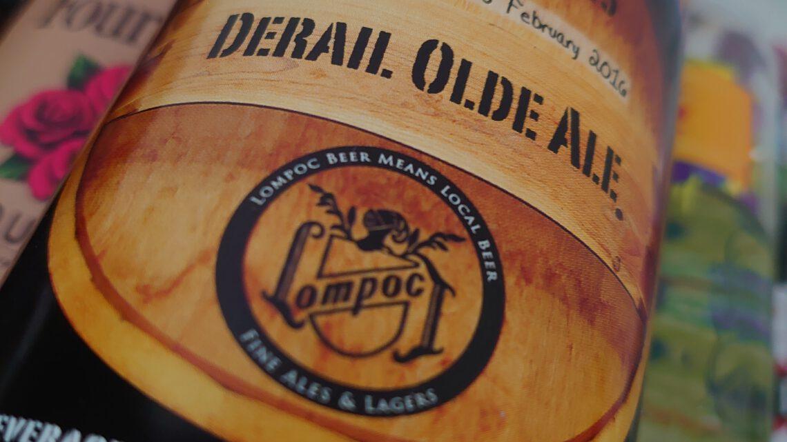 Bierpaspoort van de Derail Olde Ale gebrouwen door Lompoc uit Portland