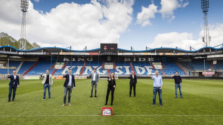 The King Of Beers gaat ook in het Koning Willem II stadion regeren!